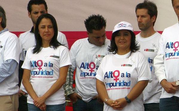 """Ministra Jara: Nadine Heredia """"no tiene intención"""" de postular a la presidencia"""