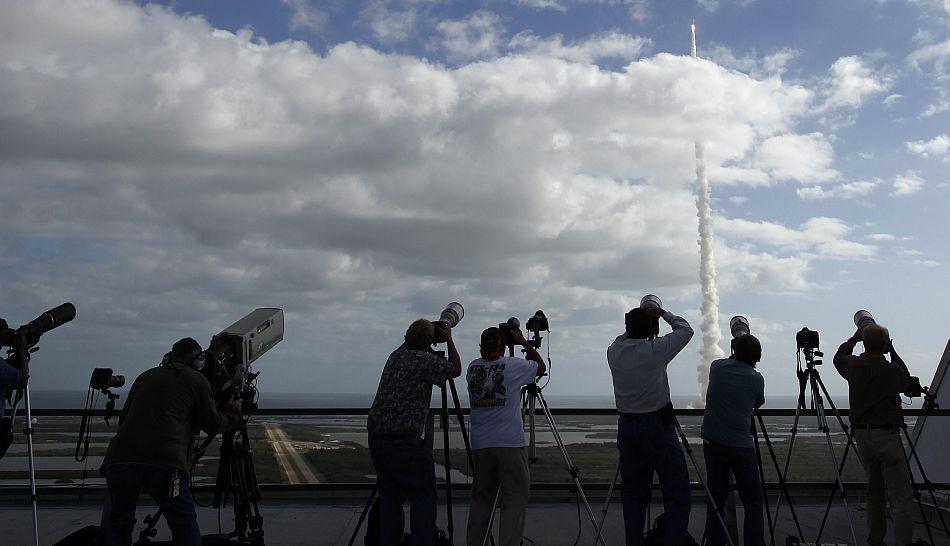 FOTOS: el Curiosity dejó la órbita de la Tierra para su aventura en Marte hace exactamente un año