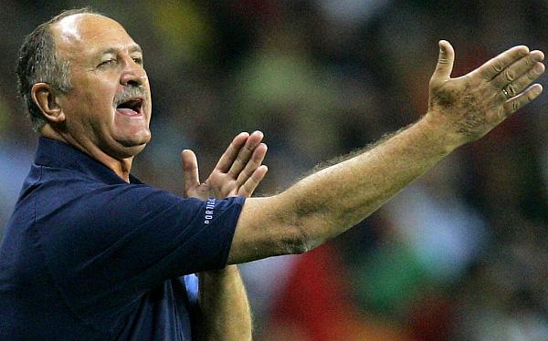 Luiz Felipe Scolari es la primera opción para dirigir a Brasil