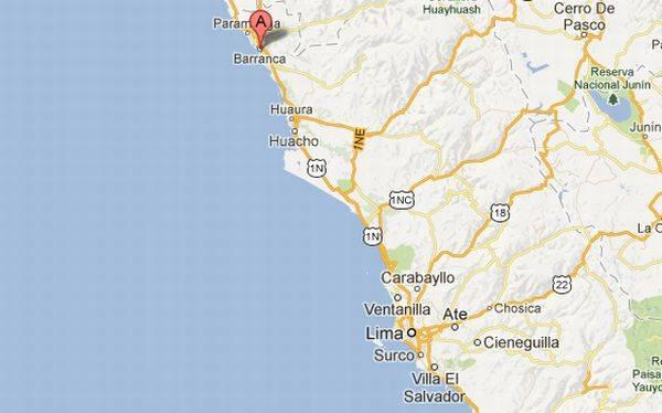 Sismo en Barranca: IGP reportó 4,4 grados Richter