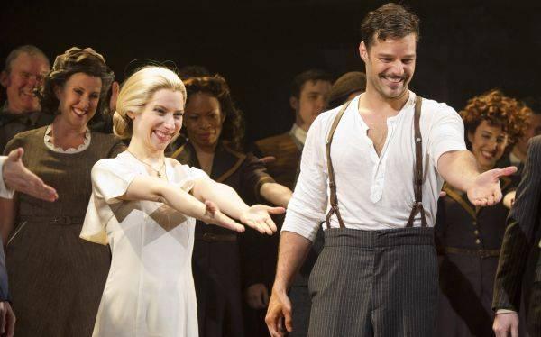 """Musical """"Evita"""" seguirá en Broadway en 2013 sin Ricky Martin y Elena Roger"""