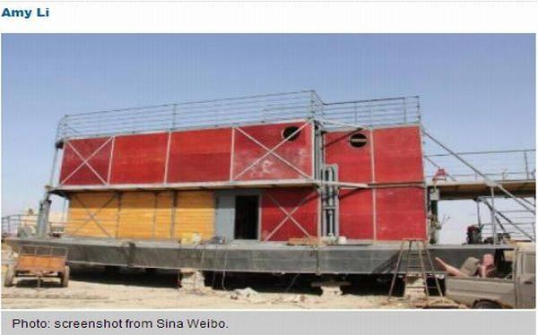 Un chino construye un arca para salvarse del 'apocalipsis maya'