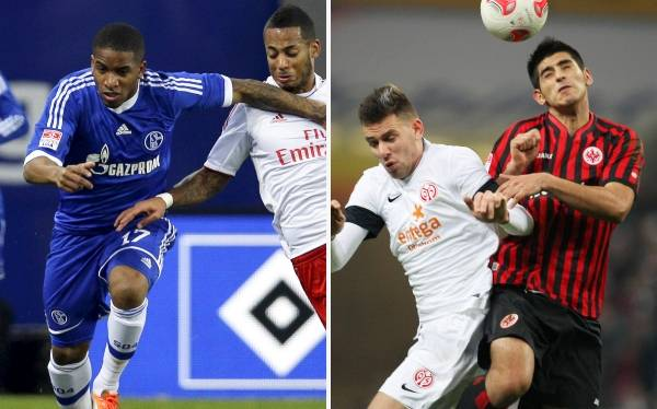 Bundesliga: Schalke de Farfán y Eintracht Frankfurt de Zambrano perdieron