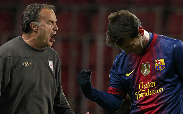 """Bielsa se inclinó por Messi para el Balón de Oro """"sea quien sea su oponente"""""""