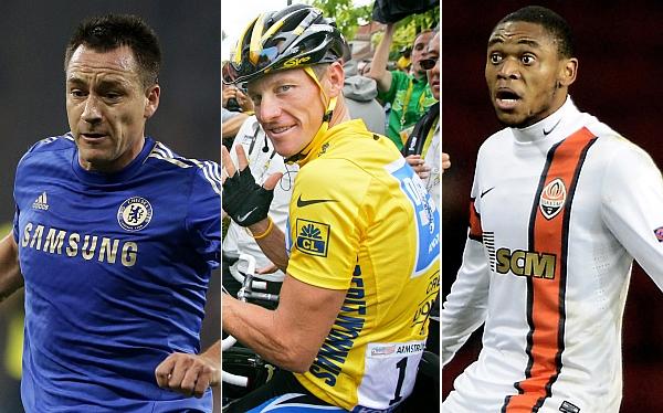 Terry, Armstrong y Luiz Adriano nominados como los más 'antideportivos'