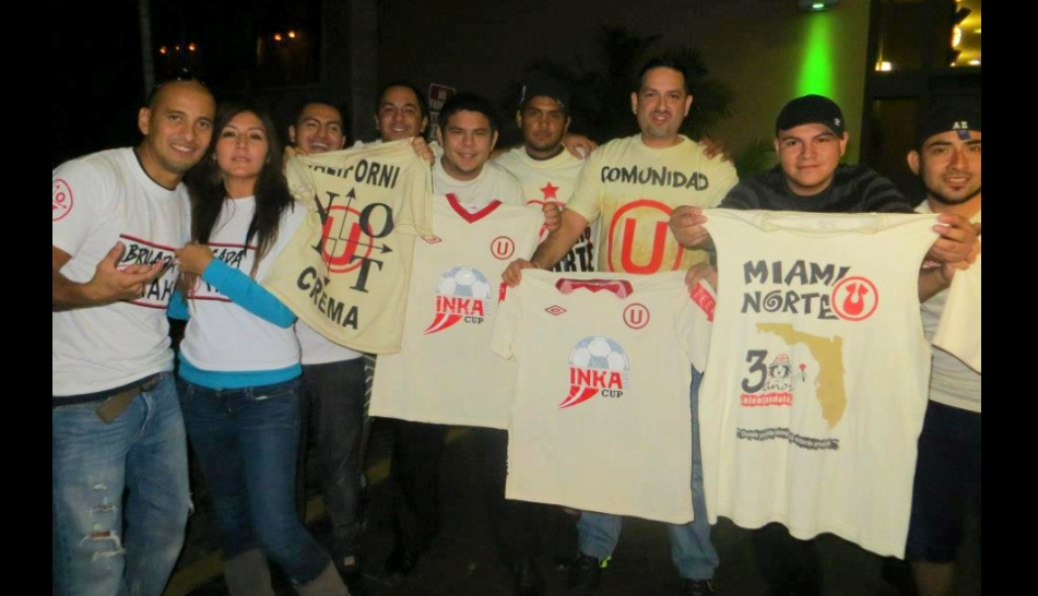 FOTOS: el clásico Alianza-'U' en Miami ya lo juega la colonia peruana