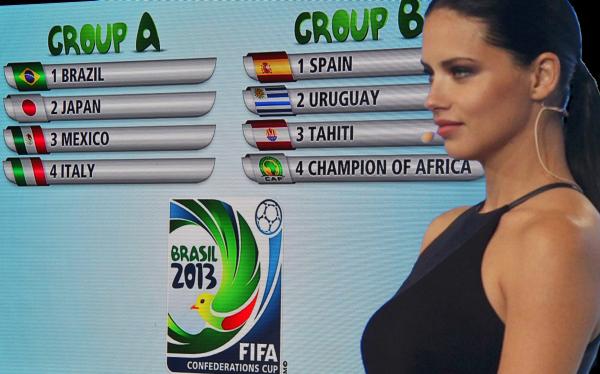 Copa Confederaciones: Brasil vs. Japón y España vs. Uruguay abren el torneo