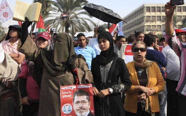 Egipto: Islamistas toman calles de El Cairo en apoyo al presidente Mursi
