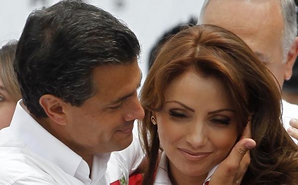 FOTOS: Angélica Rivera, una primera dama que desborda de popularidad