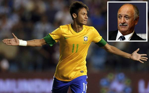 """Neymar a disposición de Scolari: """"Si me quiere convocar, estoy ahí"""""""