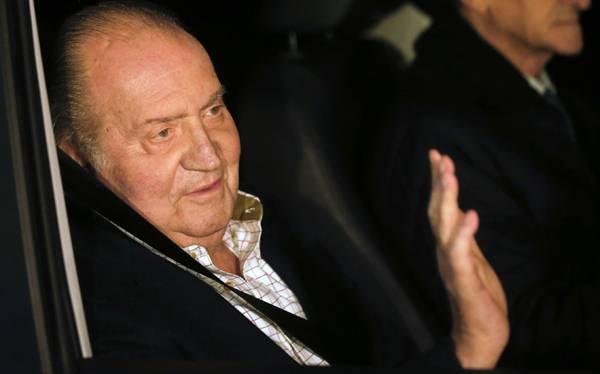 Rey Juan Carlos salió del hospital tras nueve días de recuperación