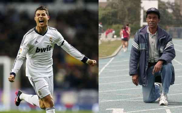 Cristiano Ronaldo superaría el récord de los 100 metros planos de Perú