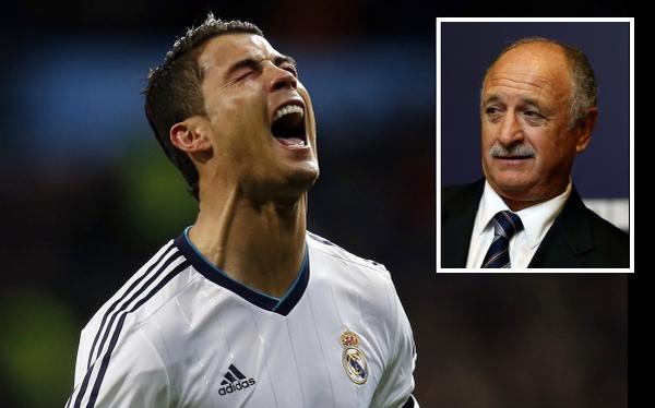 Luiz Felipe Scolari cree que Cristiano Ronaldo merece el Balón de Oro