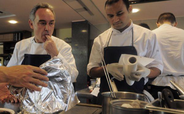Ferran Adrià no extraña al que fuera el mejor restaurante del mundo