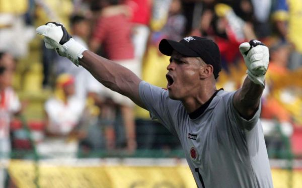 Murió el ex arquero colombiano Miguel Calero