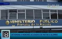 Cusco: escolares acusados de asesinar a compañero fueron detenidos - Noticias de cusco carlos perez sanchez