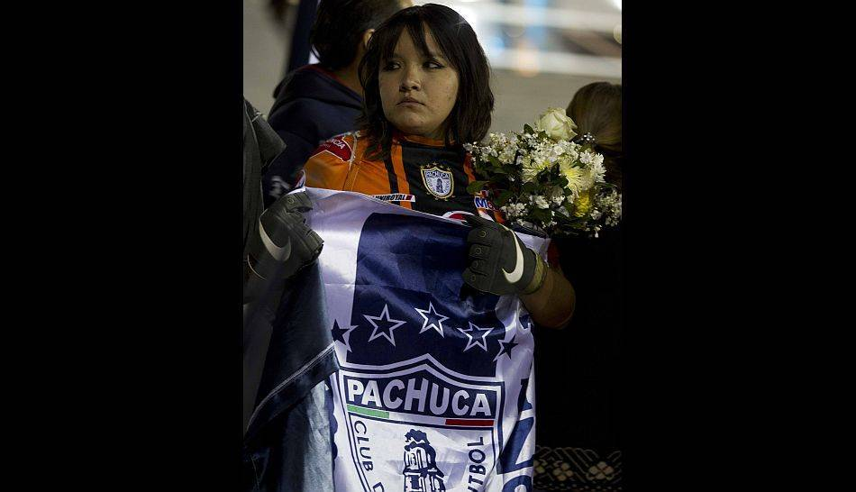 FOTOS: hinchas del Pachuca se despiden de su ídolo colombiano Miguel Calero