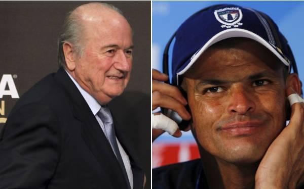 """Blatter mostró su """"hondo pesar"""" por la muerte del arquero Miguel Calero"""