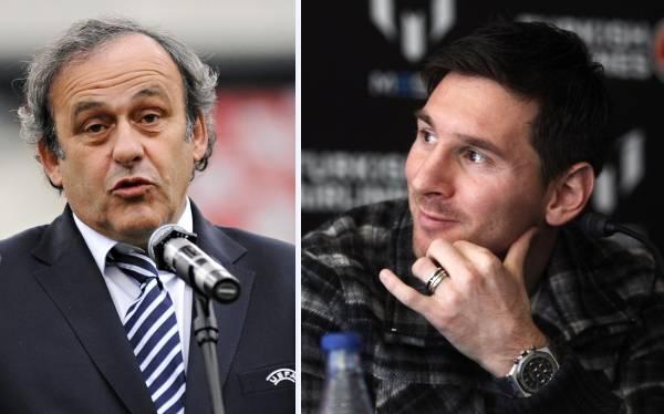 Michel Platini confía que Lionel Messi consiga su cuarto Balón de Oro