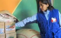 Áncash: Defensoría decomisó productos del Pronaa almacenados en restaurante - Noticias de taricá