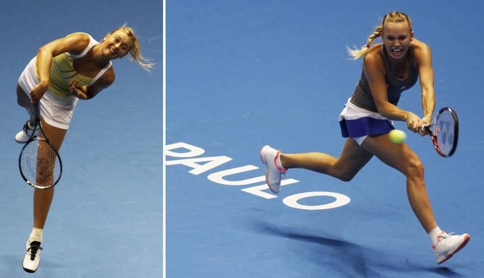 FOTOS: Caroline Wozniacki mostró su 'nuevo look' a lo Serena Williams