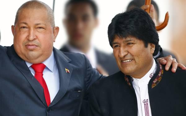 Evo Morales viajará esta noche a Caracas para despedir a Hugo Chávez