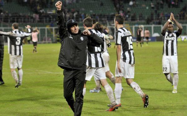 Juventus venció 1-0 a Palermo y se afianza en el liderato de la Serie A