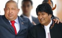 Evo Morales viajará esta noche a Caracas para despedir a Hugo Chávez - Noticias de amanda davila