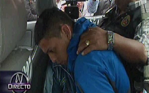 Cayó presunto hincha de Sporting Cristal que participó en desmanes