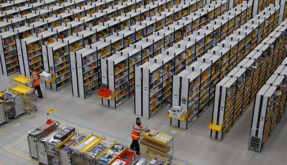 FOTOS: Amazon y su impresionante centro de distribución en Inglaterra