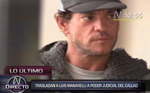 """Luis Mannarelli fue trasladado al Poder Judicial del Callao: """"Soy una víctima de todo esto"""""""