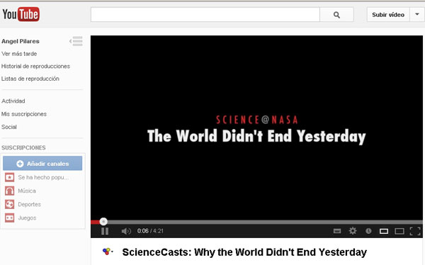 La NASA explica por qué no se acaba el mundo el 21 de diciembre