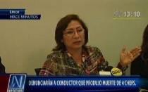 Sutran denunciará penalmente a involucrados en muerte de cuatro chefs - Noticias de jason nanka