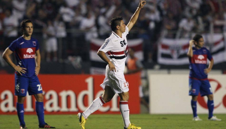 FOTOS: bronca, polémica, goles y el festejo de Sao Paulo campeón de la Copa Sudamericana