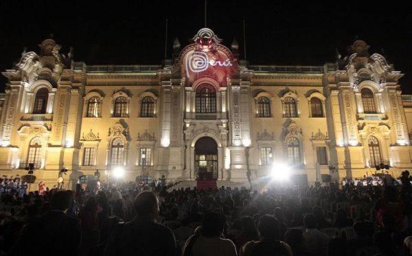 Ollanta Humala y familia dieron inicio a la Navidad en Palacio de Gobierno