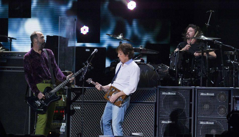 FOTOS: La noche de ensueño que ofrecieron Paul McCartney y los ex Nirvana