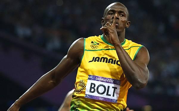 Usain Bolt venció a Messi y se quedó con el galardón de deportista del año