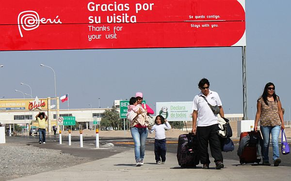 Chile cerrará su frontera con Tacna entre el 26 y 29 de diciembre