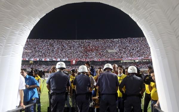 Conmebol investigará actos de violencia en final de la Copa Sudamericana
