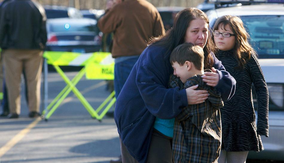 La pacífica Newtown en Connecticut solo había registrado un homicidio en una década