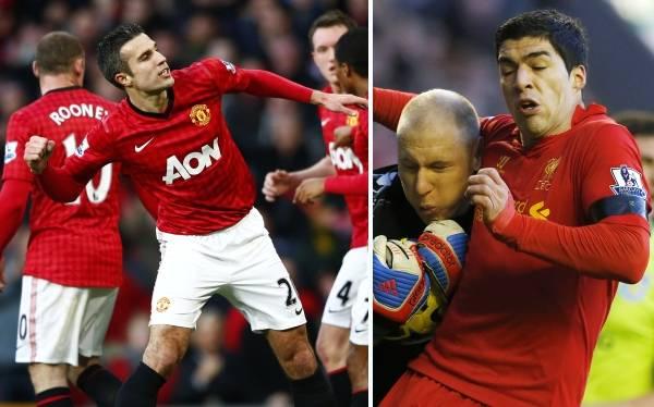 Manchester United venció 3-1 al Sunderland y Liverpool cayó de local