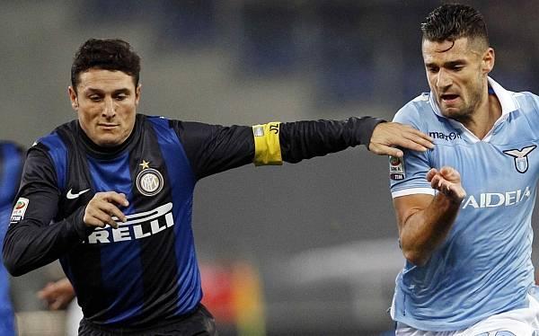 Inter perdió 1-0 ante Lazio y no pudo acercarse al líder Juventus
