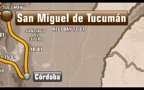 Etapa 9: San Miguel de Tucumán - Córdoba