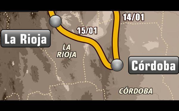 Etapa 10: Córdoba - La Rioja