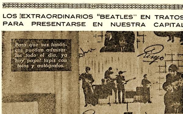 FOTOS: el día en que se anunció la visita de Los Beatles al Perú
