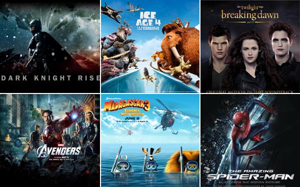 Estas fueron las películas más vistas en el Perú en el 2012