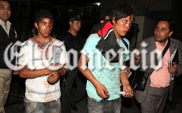 FOTOS: estos son los sicarios que acribillaron al alcalde de Angasmarca