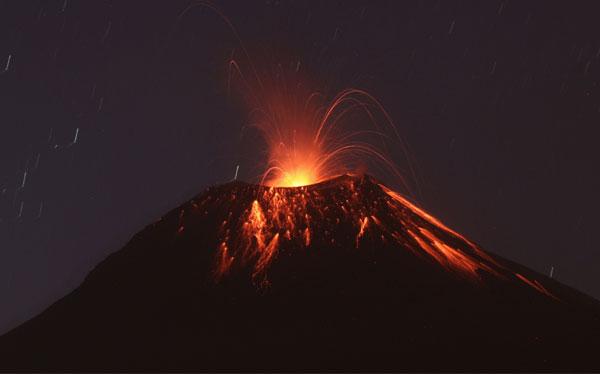 Ecuador en alarma por la erupción del volcán Tungurahua
