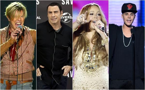Desde Justin Bieber hasta John Travolta: los villancicos de los famosos