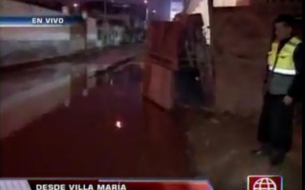 Afectados por inundación en VMT piden presencia del ministro de Vivienda
